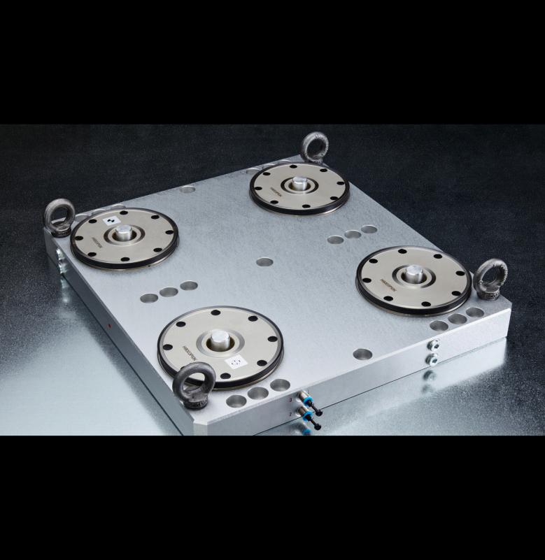 Carl Hirschmann System 9000 CNC İşleme Moduler Zero Point Sistemi