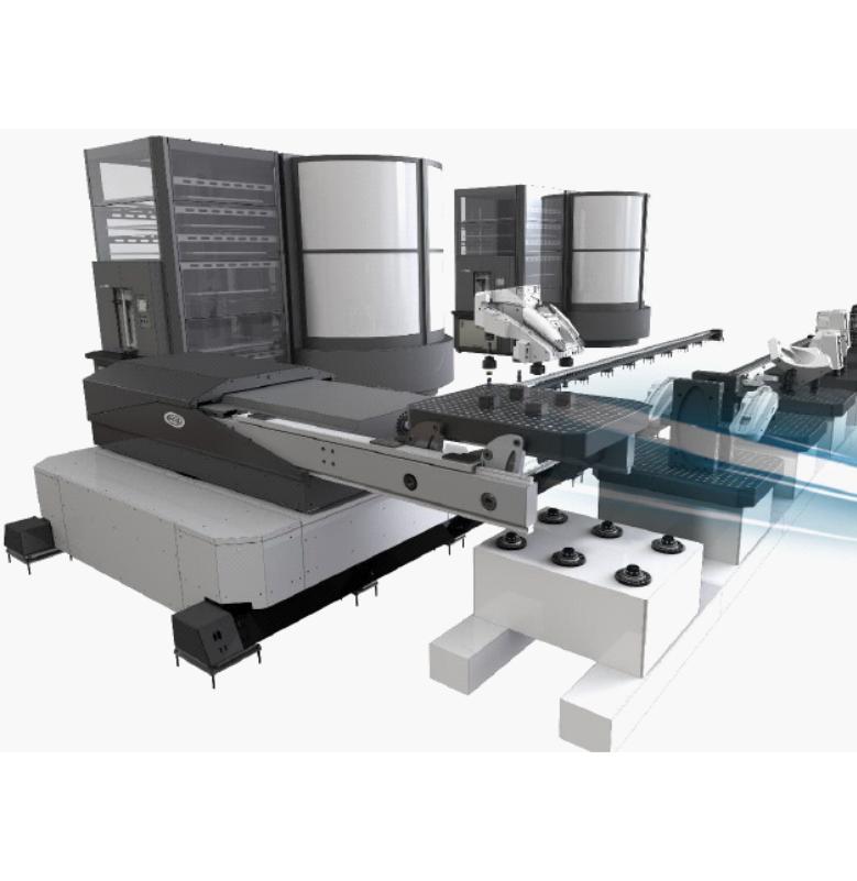 FCS System Tezgah Palet, Fikstür, Kalıp ve Takım Yükleme Sistemleri